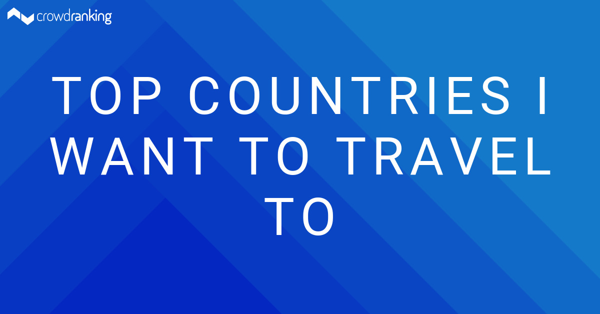 Country i want to visit