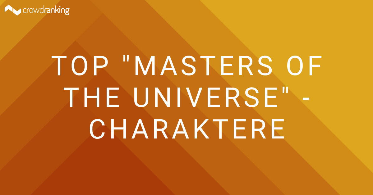 Masters Of The Universe Charaktere