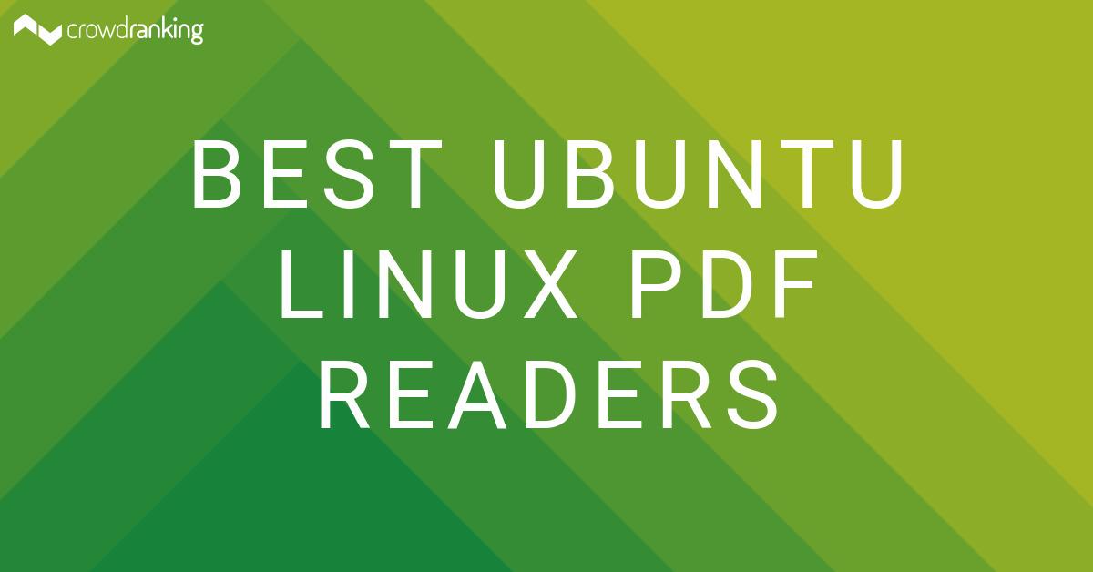 Best Ubuntu Linux PDF Readers - crowdranking