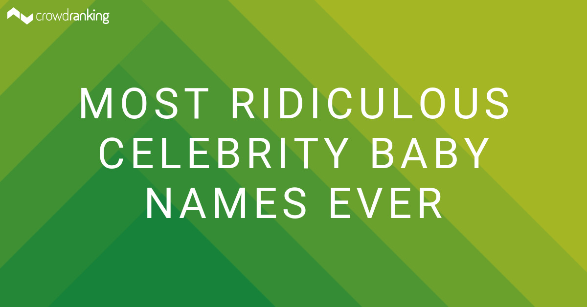 Top 10 Ridiculous Celebrity Baby Names - YouTube