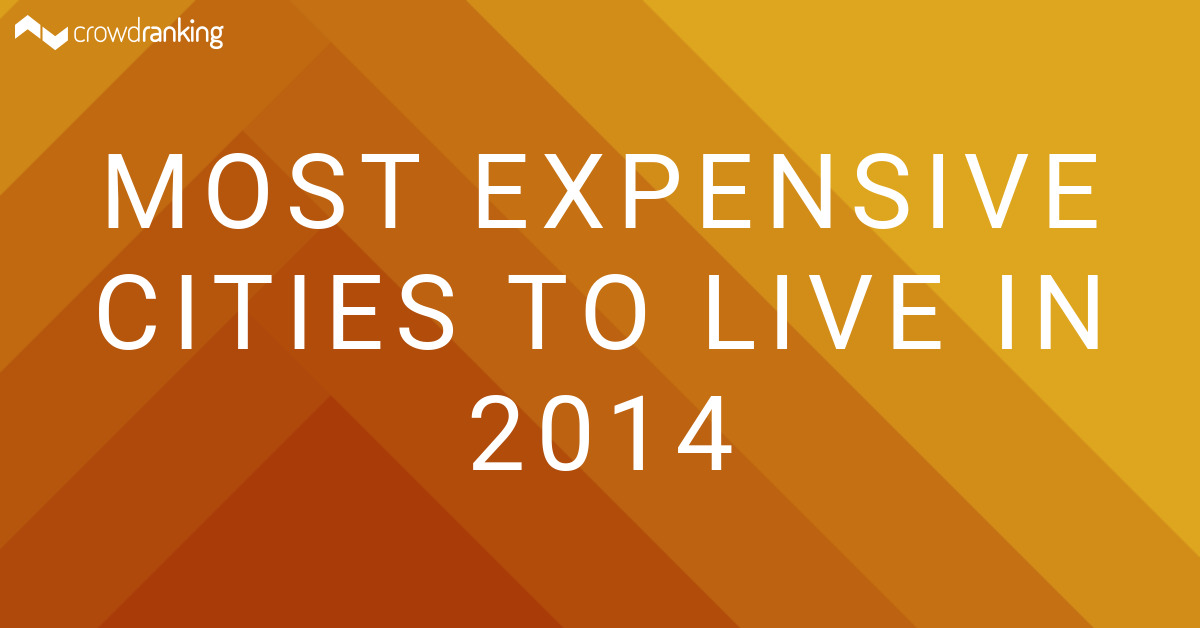 Most Expensive Cities To Live In 2014 Amruniel Crowdranking
